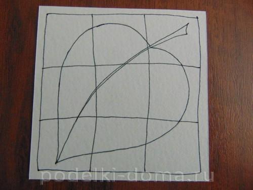 рисуем лист 05