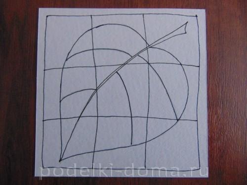 рисуем лист 06