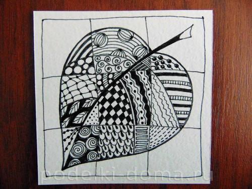 рисуем лист 09