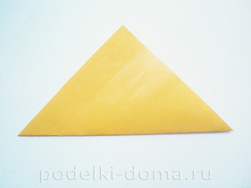 закладка из бумаги собачка 01