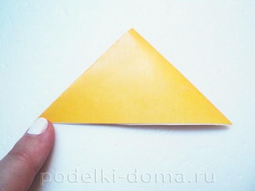 закладка из бумаги собачка 02