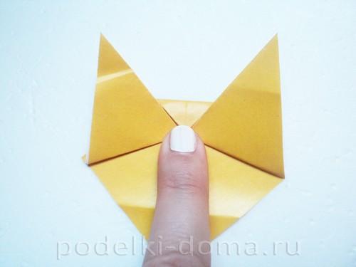 закладка из бумаги собачка 06