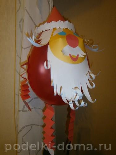 Дед Мороз из шара