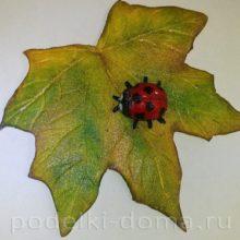 Магнит из фоаминара «Вот и осень»