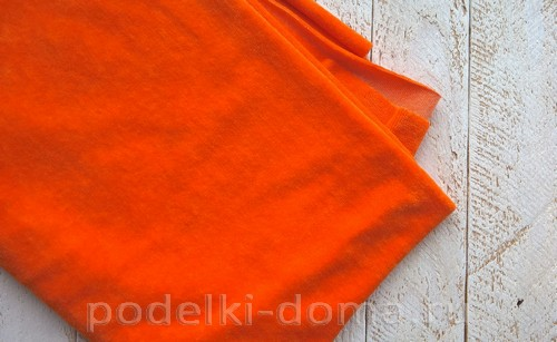 костюм морковки шитье 01