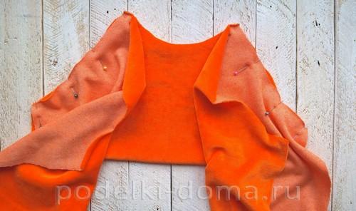 костюм морковки шитье 07
