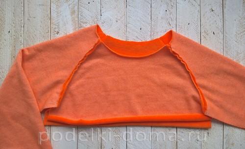 костюм морковки шитье 08