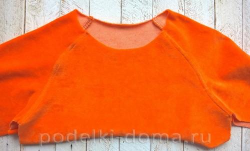 костюм морковки шитье 09