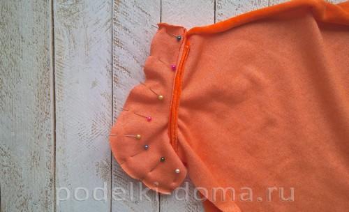 костюм морковки шитье 14