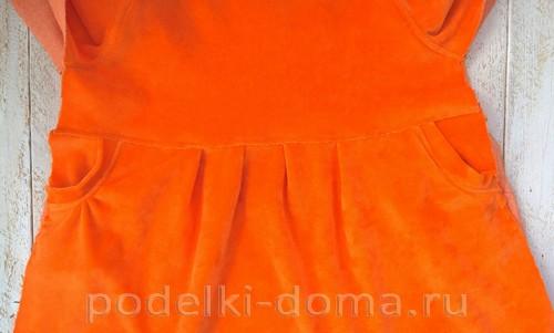 костюм морковки шитье 17