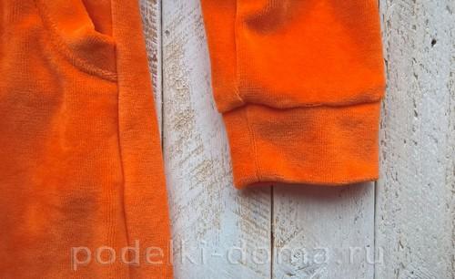 костюм морковки шитье 20