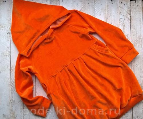 костюм морковки шитье 22
