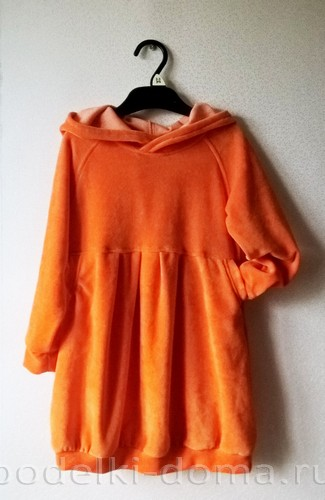 костюм морковки шитье 23