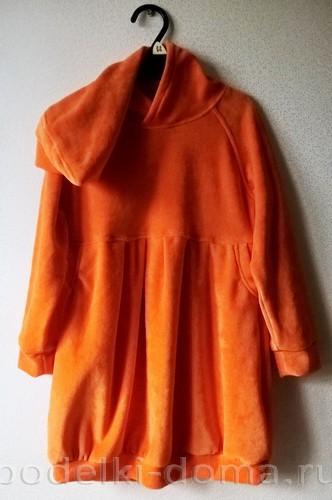 костюм морковки шитье 25