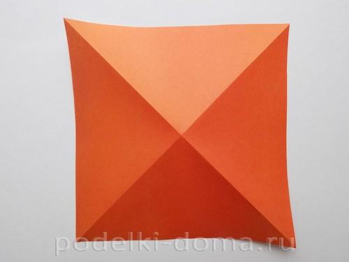 лилия из бумаги оригами 03