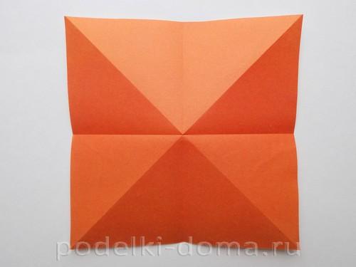 лилия из бумаги оригами 04