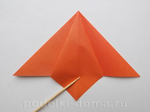 лилия из бумаги оригами 06