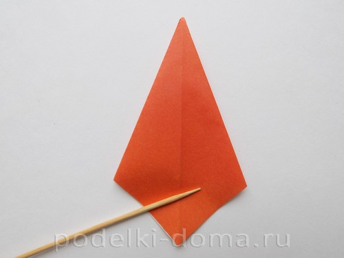 лилия из бумаги оригами 07