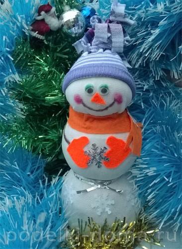 снеговик Гаркушин