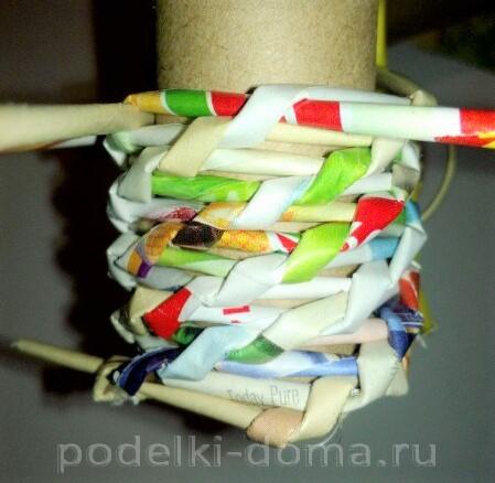 венок из бумажных трубочек07