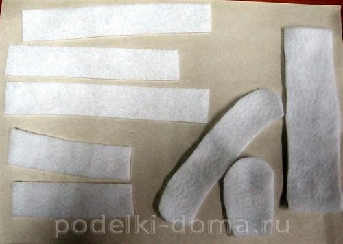 снегурочка из бумажных трубочек 11