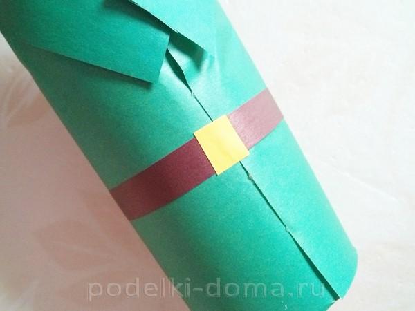 форма для бутылки из бумаги 13