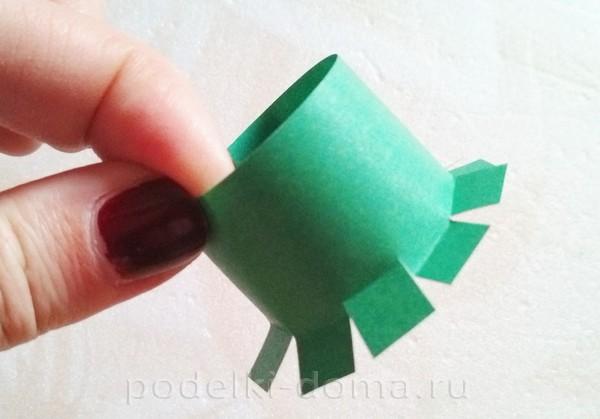 форма для бутылки из бумаги 19