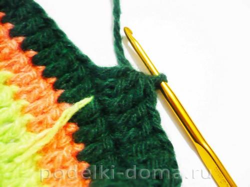 вязаные тапки мокасины Фото 2220