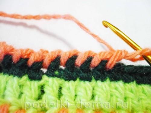 вязаные тапки мокасины Фото 3230