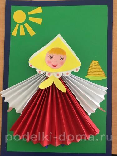 Кукла из лыка и другие поделки к Масленице