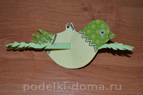 бумажная птица счастья 11