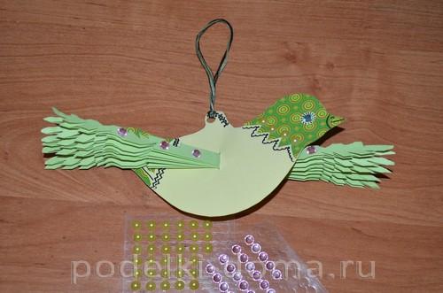 бумажная птица счастья 12
