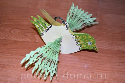 бумажная птица счастья 13