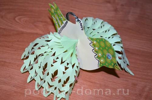 бумажная птица счастья 14