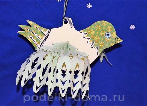 бумажная птица счастья 16