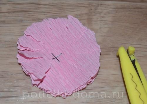 Как сделать объемный круга из бумаги 206