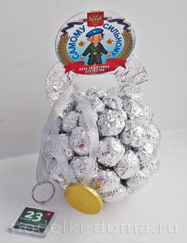 гиря из конфет 12