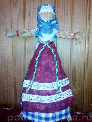 кукла из лыка