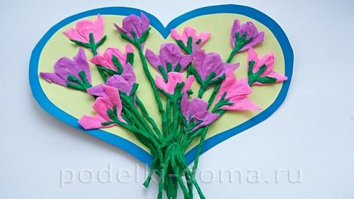 сердце с цветами 09