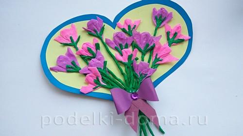 сердце с цветами 10