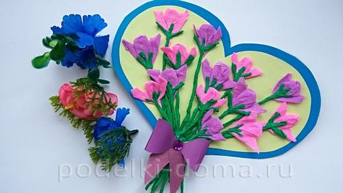 сердце с цветами 11
