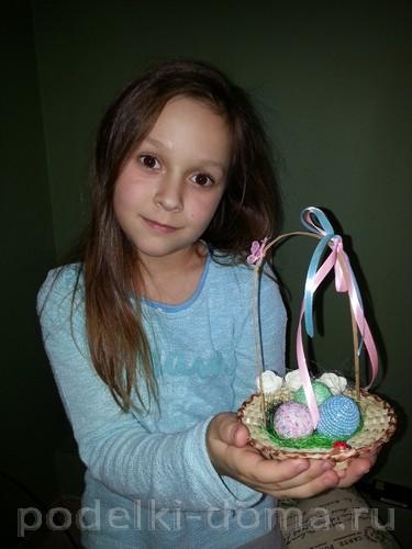 бисерные пасхальные яйца Жалдак Мария