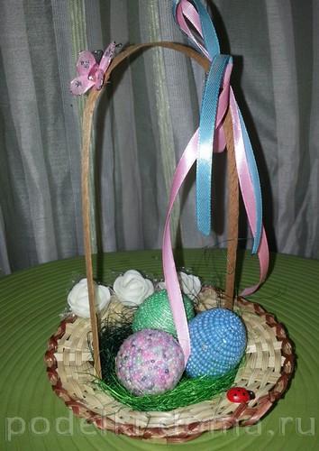 бисерные пасхальные яйца