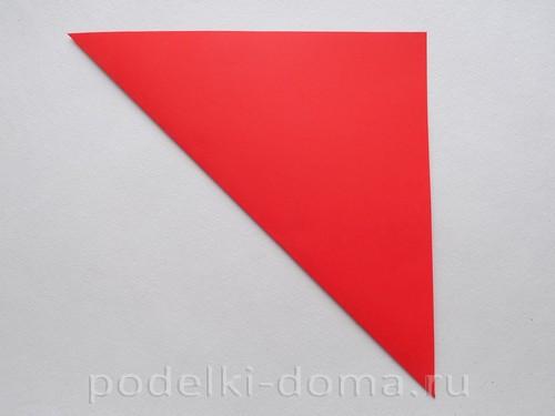 бумажная ракета из бумаги оригами03