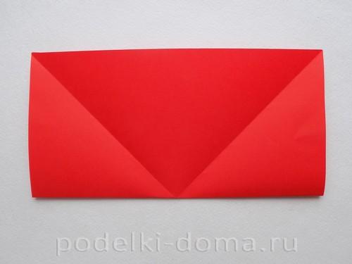 бумажная ракета из бумаги оригами05
