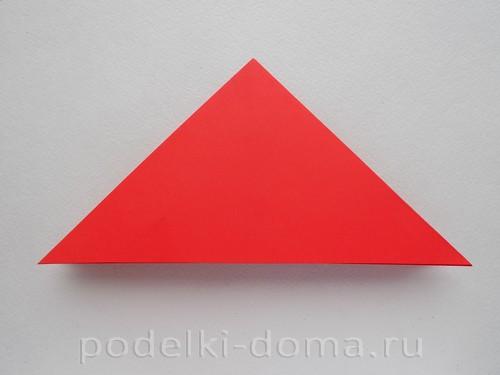 бумажная ракета из бумаги оригами07
