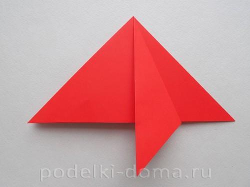 бумажная ракета из бумаги оригами08