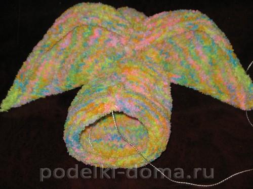 кролик вязаный спицами 09