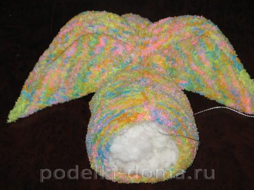 кролик вязаный спицами 10