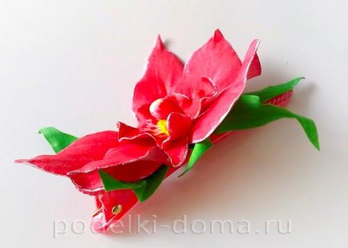 орхидея фоамиран 14